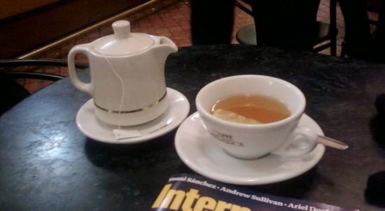 nell'attesa prendetevi un tè
