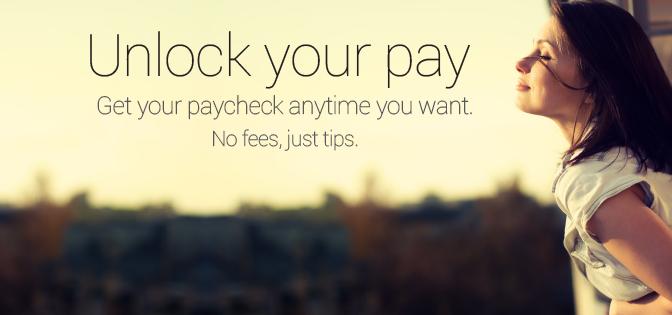 Perché aspettare fine mese per lo stipendio?