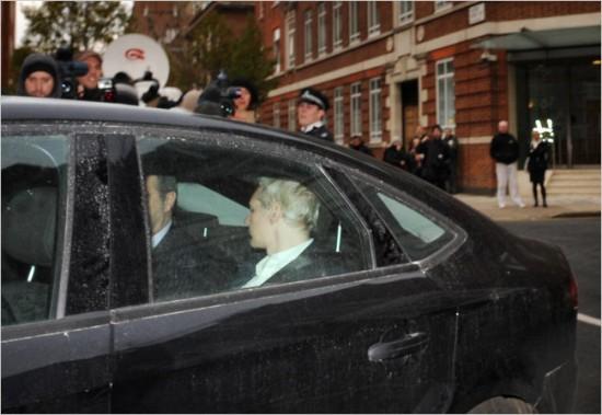 arrestato assange