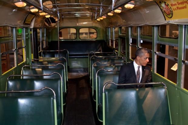 obama autobus rosa parks